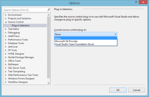 Visual Studio 2013 Source Control Plugin.