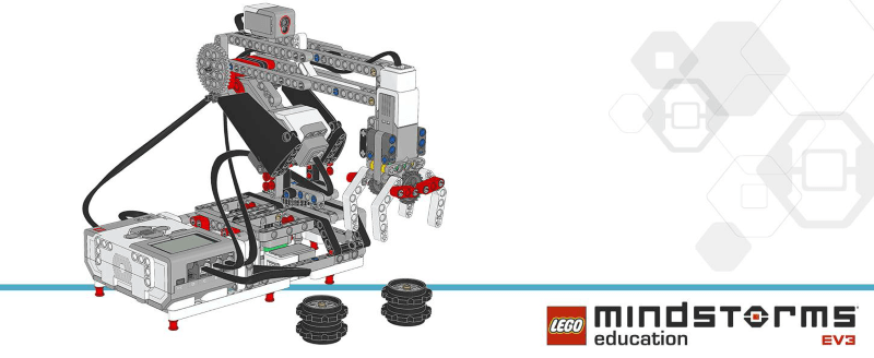 lego mindstorms ev3 education 45544 robotarm