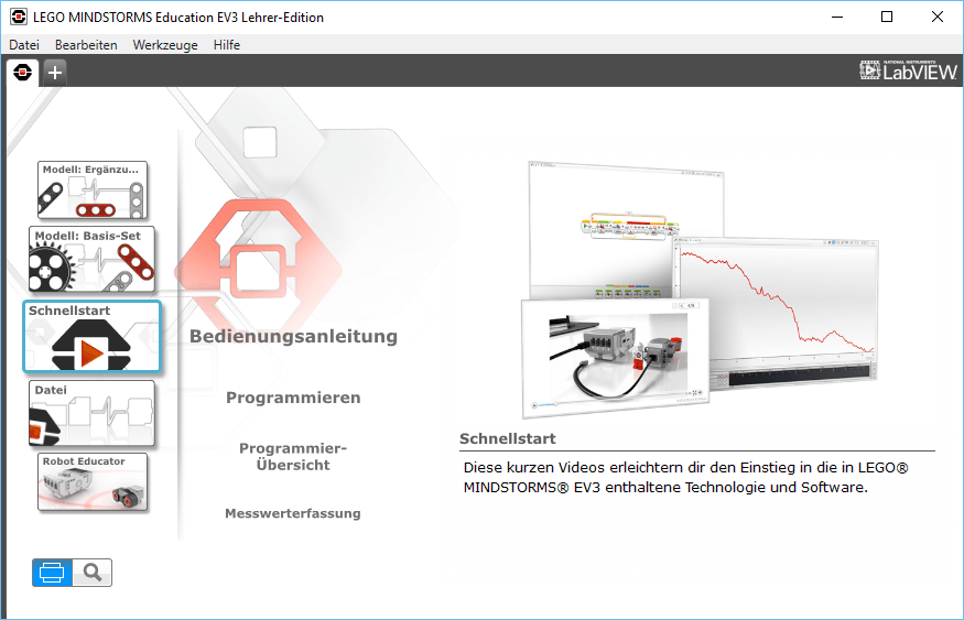 LEGO Mindstorms EV3: Education Software | Fabian Deitelhoff